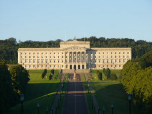 Stormont Parliament Building, home of the Northern Ireland Assembly